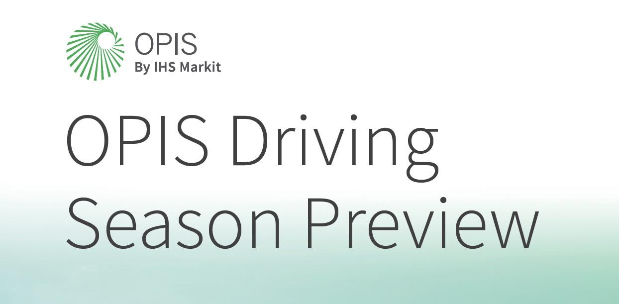 OPIS Driving Season Preview