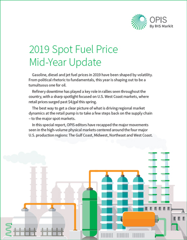 Spot Market Mid-Year 2019 Price Update