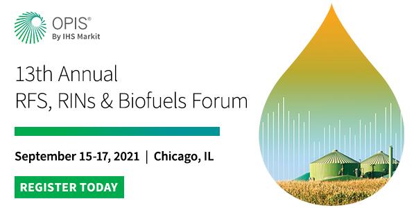 OPIS RFS, RINs & Biofuels Forum
