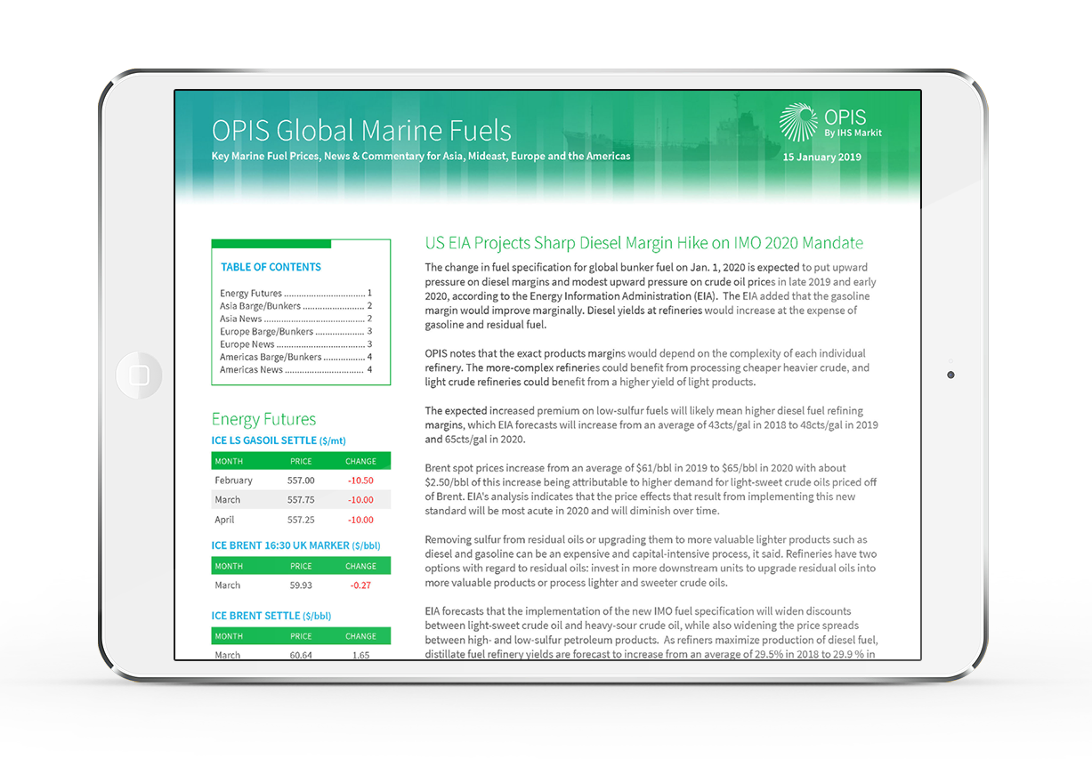 Global Marine Fuels Report
