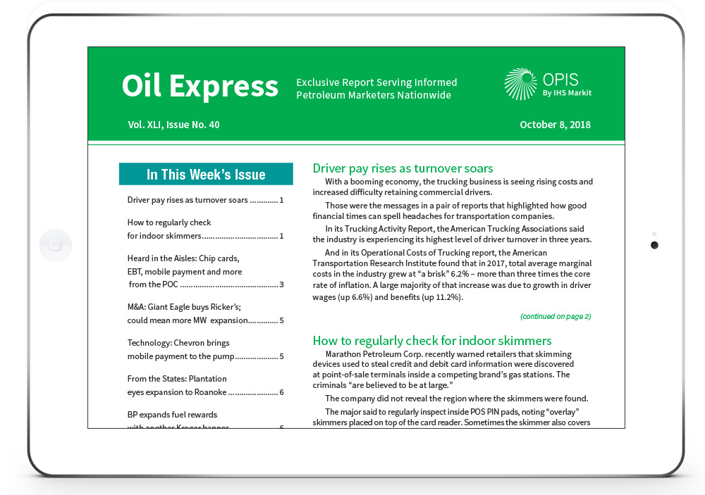Oil Express Cover