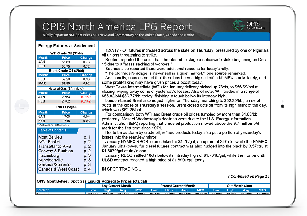 North American LPG Report